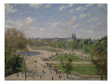 Garden of the Tuileries in the Spring Poster par Camille Pissarro