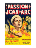 The Passion of Joan of Arc Premium Giclee-trykk