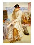 Found Prints by Dante Gabriel Rossetti