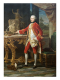 Portrait of a Young Man Plakat af Pompeo Batoni