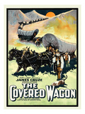 The Covered Wagon ポスター