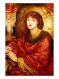 Sybilla Palmifera Prints by Dante Gabriel Rossetti