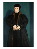 Christina of Denmark, Duchess of Milan in Mourning Affiches par Hans Holbein the Younger