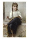 Couture Affiches par William Adolphe Bouguereau