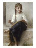 Sewing Posters by William Adolphe Bouguereau