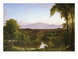 View on the Catskill - Early Autumn Poster af Thomas Cole