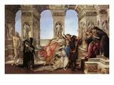 Calumny of Appeles Print by Sandro Botticelli