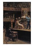 Between Rounds Poster av Thomas Cowperthwait Eakins