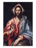 Christ the Saviour Láminas por  El Greco