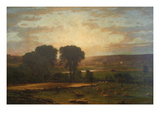 Peace and Plenty Plakater af George Inness