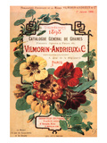 Vilmorin-Andrieux Seed Catalog Print by Philippe-Victoire Leveque de Vilmorin