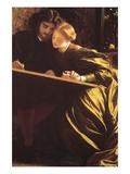 The Painter's Honeymoon Planscher av Frederick Leighton