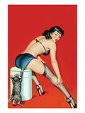 Flirt Magazine; Playful Pussy Posters af Peter Driben