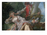 Interrupted Sleep Print by Francois Boucher