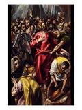 Disrobing of Christ Láminas por  El Greco