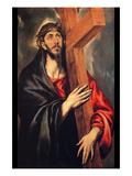 Christ Carrying the Cross Láminas por  El Greco
