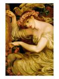 A Sea Spell Plakater av Dante Gabriel Rossetti