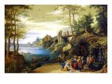 Christ Posters tekijänä Pieter Brueghel the Younger