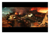Christ Descent into Hell Poster af Hieronymus Bosch