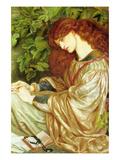 La Pia De' Tolomei Kunst av Dante Gabriel Rossetti
