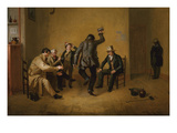 Bar Room Scene Art by William Sidney Mount