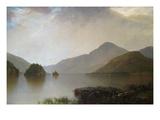 Lake George Landscape Art by John Frederick Kensett