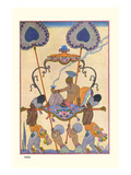 India Prints by Georges Barbier