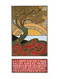 The New Aesthetic - Modern Museum Posters van Alphonse Mucha