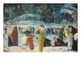 Love of Winter Plakater av George Bellows