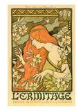 Hermitage Review of Illustration, Paris Prints by Paul Berthon