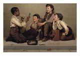 The Card Trick Posters van John George Brown