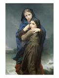 L'orage Poster par William Adolphe Bouguereau
