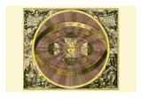 Sceno Systematis Copernicani Posters por Andreas Cellarius