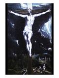 Christ on the Cross Arte por  El Greco