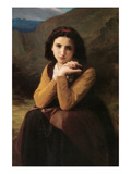 Mignon Posters par William Adolphe Bouguereau