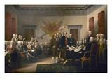 Declaration of Independence Art by John Trumbull