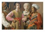 The Fortune Teller Prints by Georges de La Tour