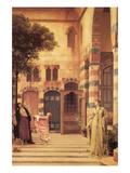 Old Damascus; the Jew's Quarter Julisteet tekijänä Frederick Leighton