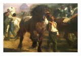 The Horse Fair Poster by Rosa Bonheur