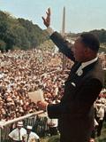 Martin Luther King Jr. Fotografisk trykk av  Associated Press