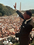 Martin Luther King Jr. Fotografie-Druck von  Associated Press