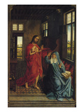 Christ Appearing to the Virgin Posters par Rogier van der Weyden