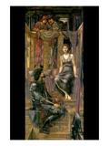 King Cophetua and the Beggar Maid Posters par Edward Burne-Jones