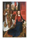 L'Annonciation Affiches par Rogier van der Weyden