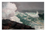 Northeaster Posters by Winslow Homer