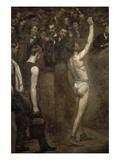 Salutat Poster av Thomas Cowperthwait Eakins