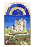 Le Tres Riches Heures Du Duc De Berry - September Plakater af Paul Herman & Jean Limbourg