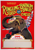 Ringling Bros (200 Years) Lámina coleccionable