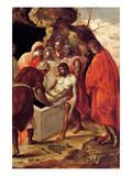 El entierro de Cristo Pósters por  El Greco