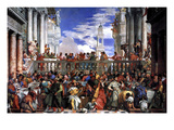 The Marriage at Cana Plakater af Paolo Veronese